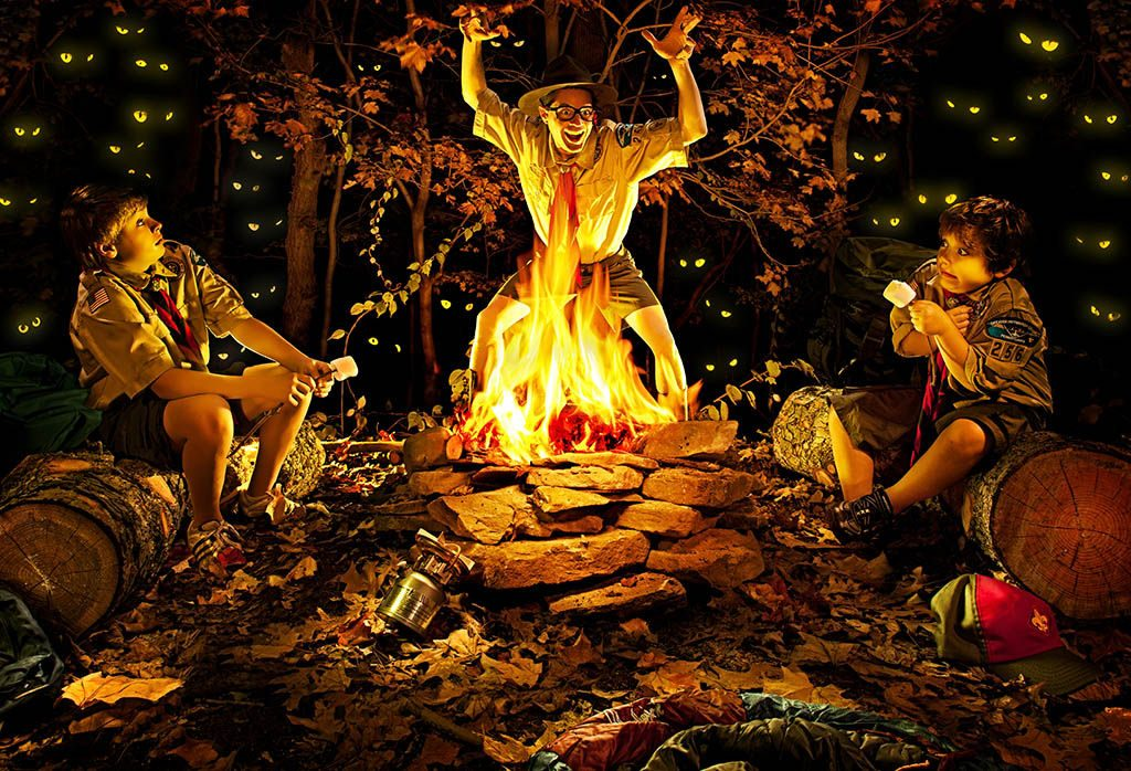 The Scary Campfire Stories