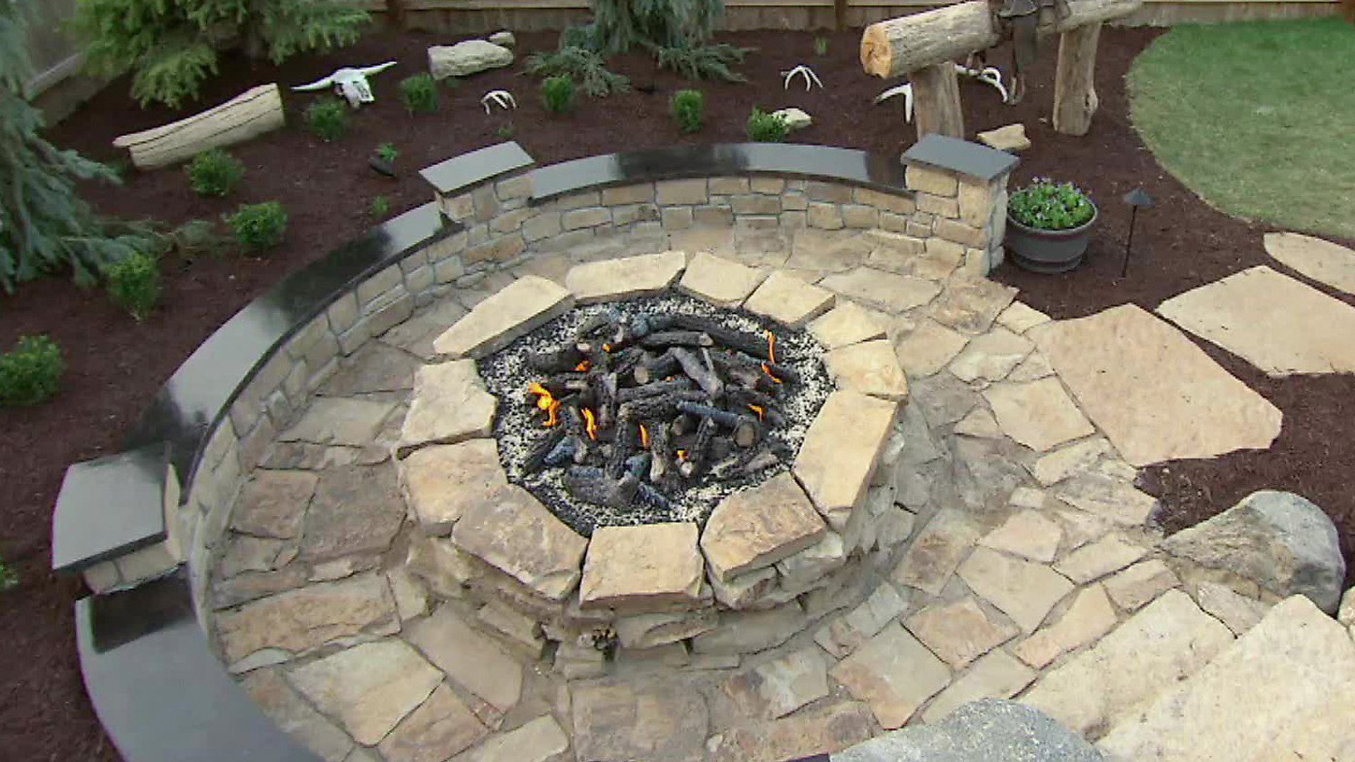 How To Build An Outdoor Stone Fire Pit Outdoorfeeds