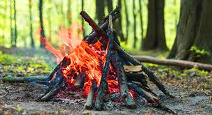 how to make a teepee fire