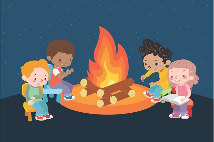 The campfire stories for kids