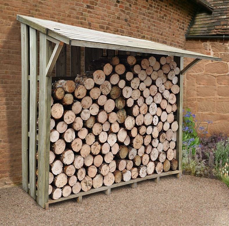 select a Firewood storage location