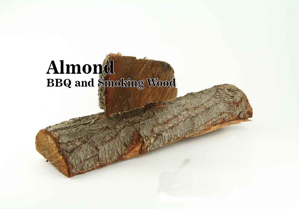 Almond smoke wood