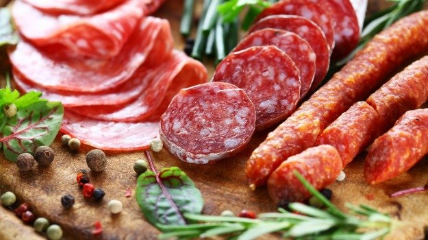 processed meat and fermenting foods