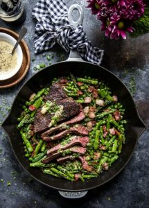cast iron skillet steak recipe
