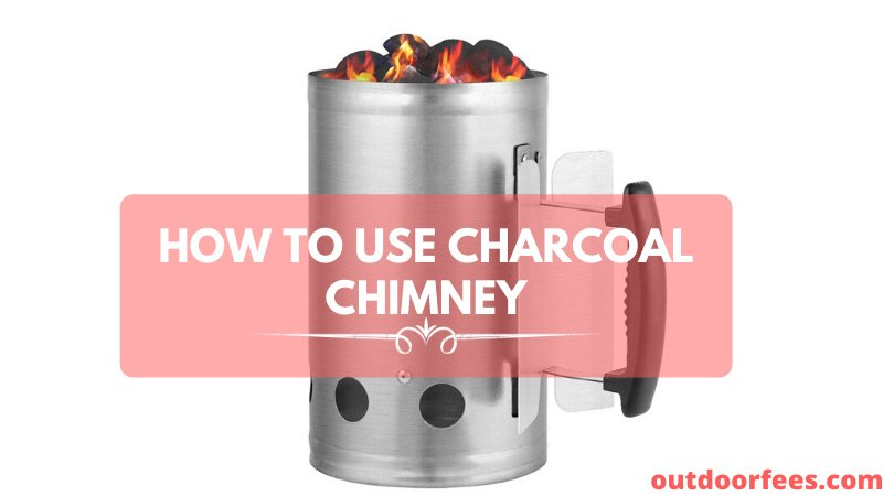 How to use charcoal chimney starter