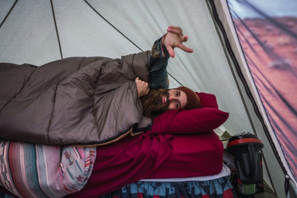 best thing to sleep on in a tent