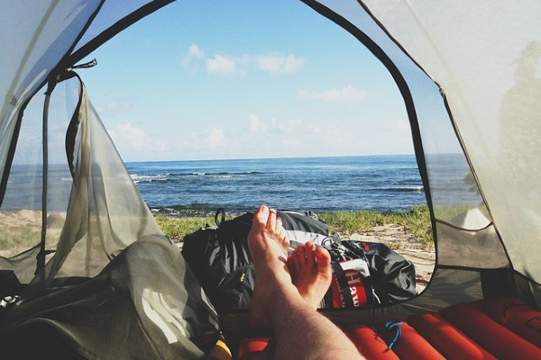 what to sleep on in a tent